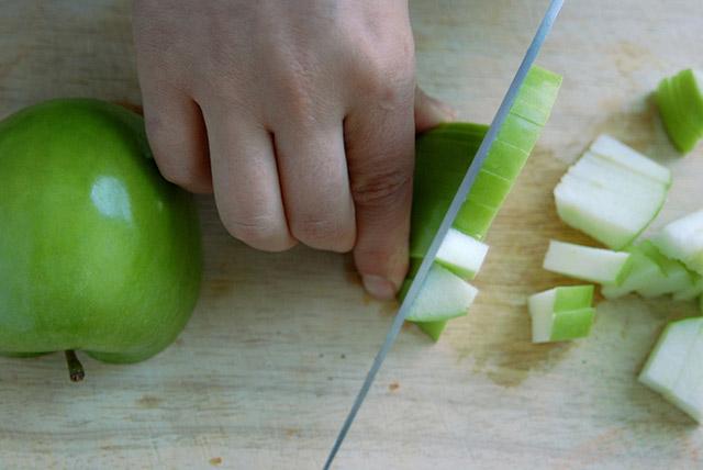 חיתוך של תפוח