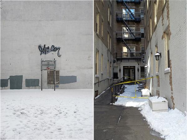 ניו יורק בשלג