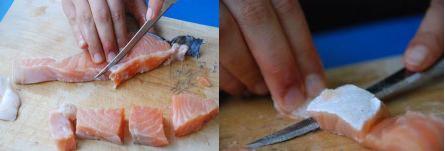 חיתוך הדג