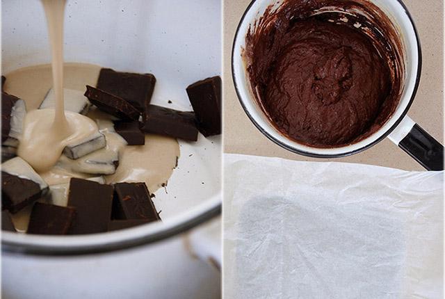 טחינוש ושוקולד