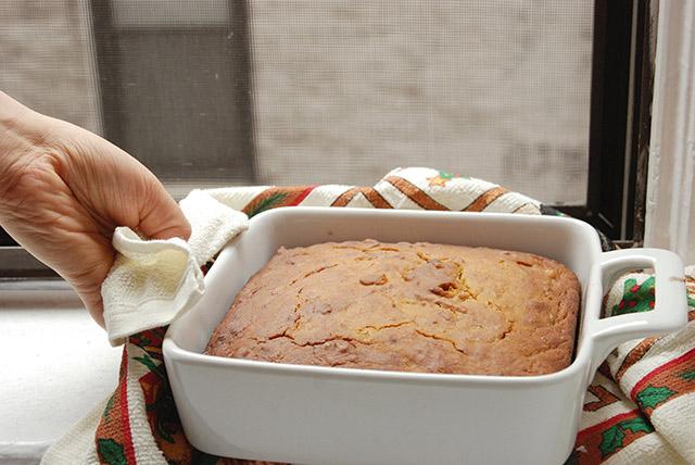 עוגת דלעת טבעונית